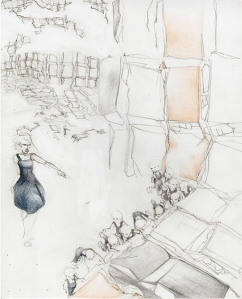 JacobVarty Constructed Spaces14''x17''1304‐13-12Drawing